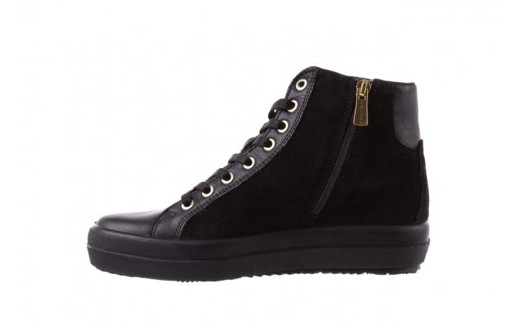 Sneakersy igi&co 8773800 nero, czarny, skóra naturalna  - obuwie sportowe - buty damskie - kobieta 2