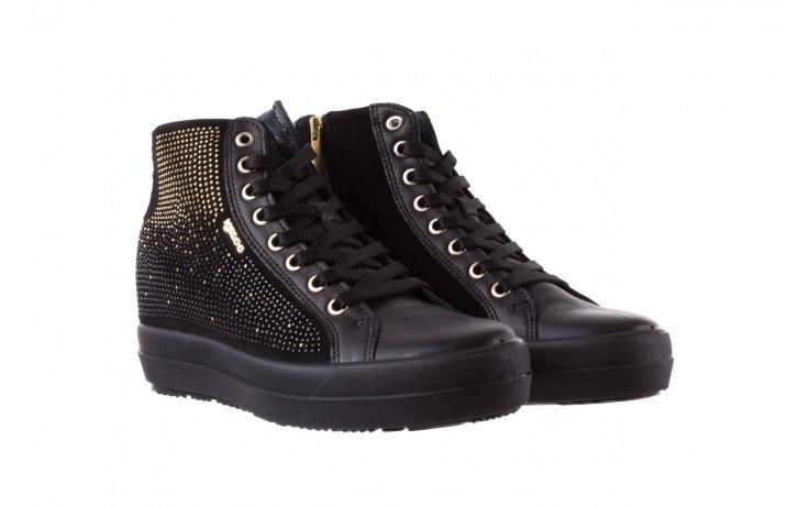 Sneakersy igi&co 8773800 nero, czarny, skóra naturalna  - obuwie sportowe - buty damskie - kobieta 1