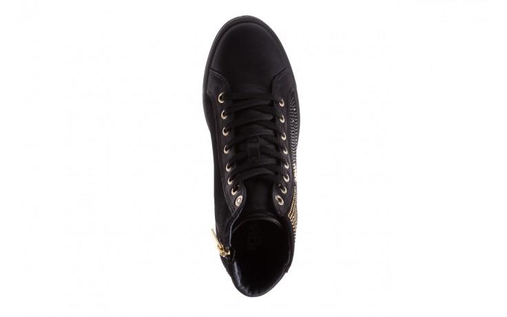 Sneakersy igi&co 8773800 nero, czarny, skóra naturalna  - obuwie sportowe - buty damskie - kobieta 4