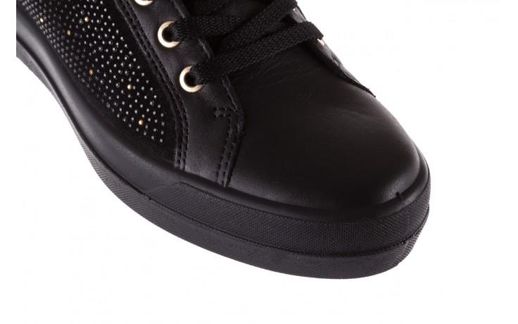 Sneakersy igi&co 8773800 nero, czarny, skóra naturalna 5
