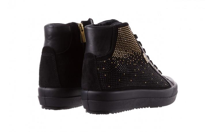 Sneakersy igi&co 8773800 nero, czarny, skóra naturalna  - obuwie sportowe - buty damskie - kobieta 3