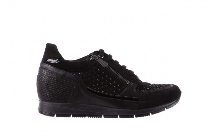 Sneakersy igi&co 8786400 nero, czarny, skóra naturalna