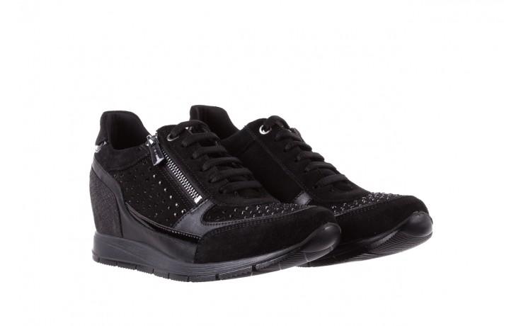 Sneakersy igi&co 8786400 nero, czarny, skóra naturalna 1