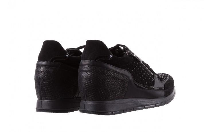 Sneakersy igi&co 8786400 nero, czarny, skóra naturalna 3
