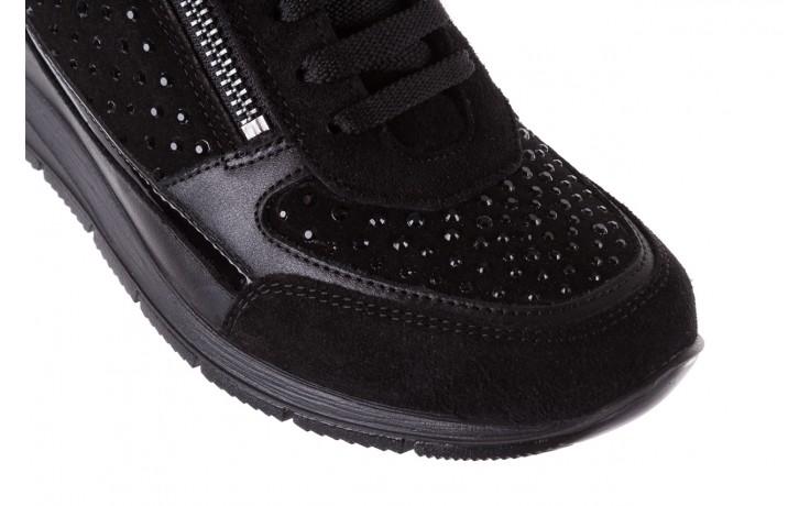 Sneakersy igi&co 8786400 nero, czarny, skóra naturalna 6