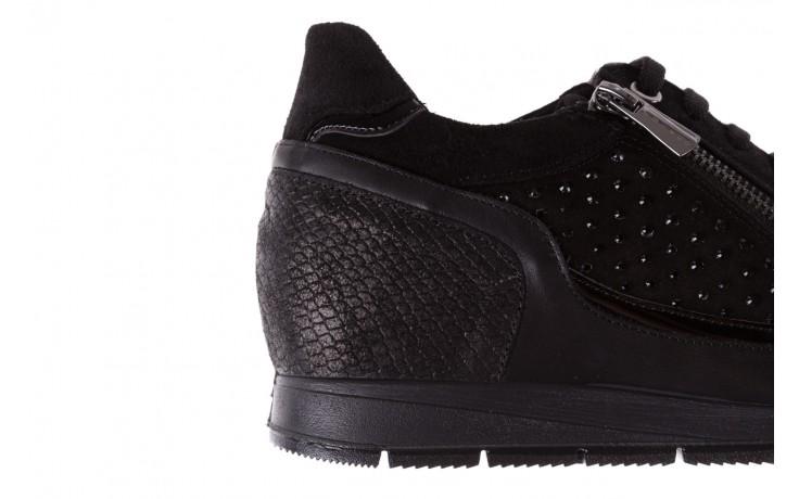 Sneakersy igi&co 8786400 nero, czarny, skóra naturalna 5