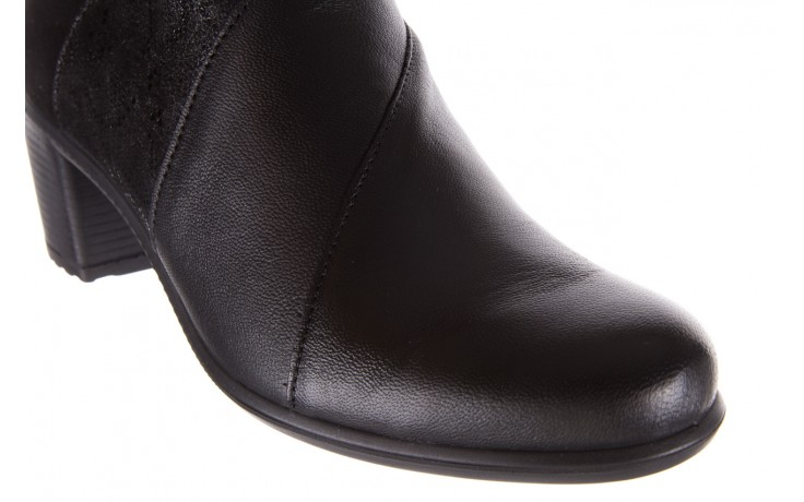 Botki imac 205240 black, czarny, skóra naturalna  - imac  - nasze marki 5