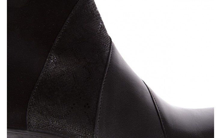 Botki imac 205240 black, czarny, skóra naturalna  - imac  - nasze marki 6