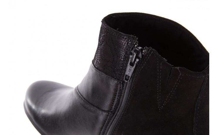 Botki imac 205240 black, czarny, skóra naturalna  - imac  - nasze marki 7