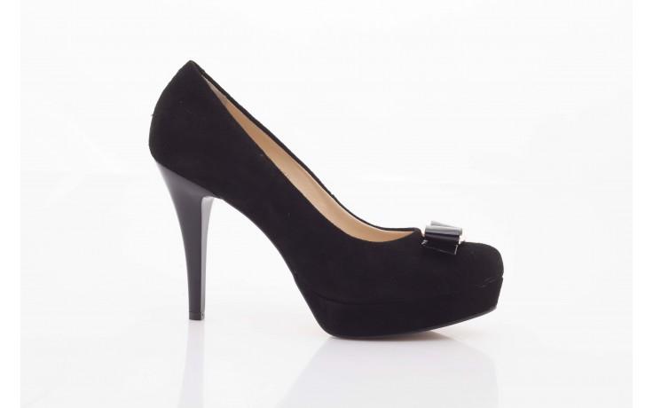 Czółenka bayla-sa 1479-21-7 czarny, skóra naturalna  - na platformie - czółenka - buty damskie - kobieta