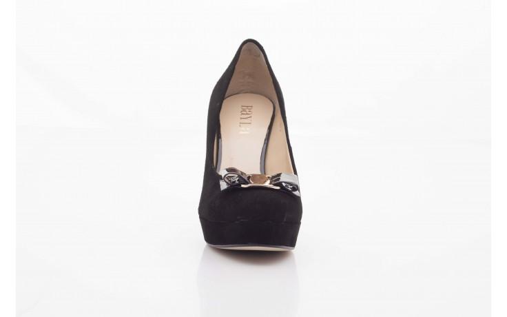 Czółenka bayla-sa 1479-21-7 czarny, skóra naturalna  - na platformie - czółenka - buty damskie - kobieta 3