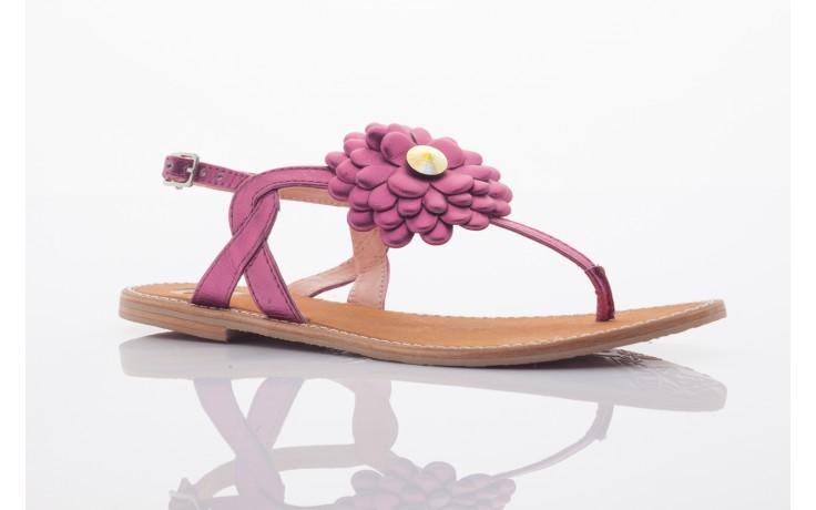 Sandały gioseppo popa fuchsia, róż, skóra naturalna  - gioseppo - nasze marki 4