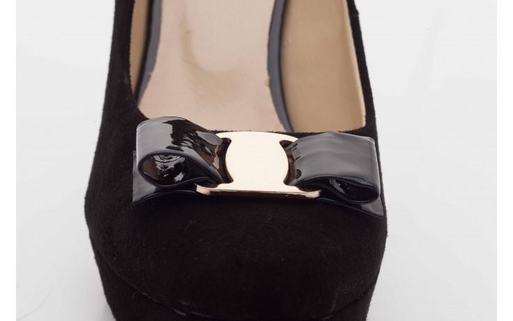 Czółenka bayla-sa 1479-21-7 czarny, skóra naturalna  - na platformie - czółenka - buty damskie - kobieta 5