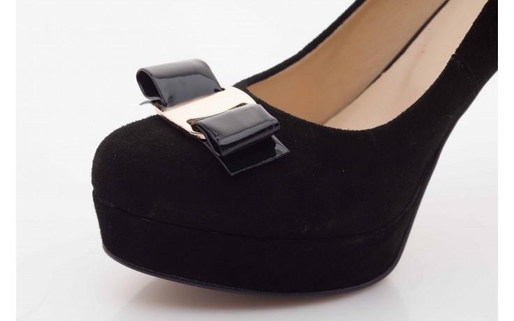 Czółenka bayla-sa 1479-21-7 czarny, skóra naturalna  - na platformie - czółenka - buty damskie - kobieta 4