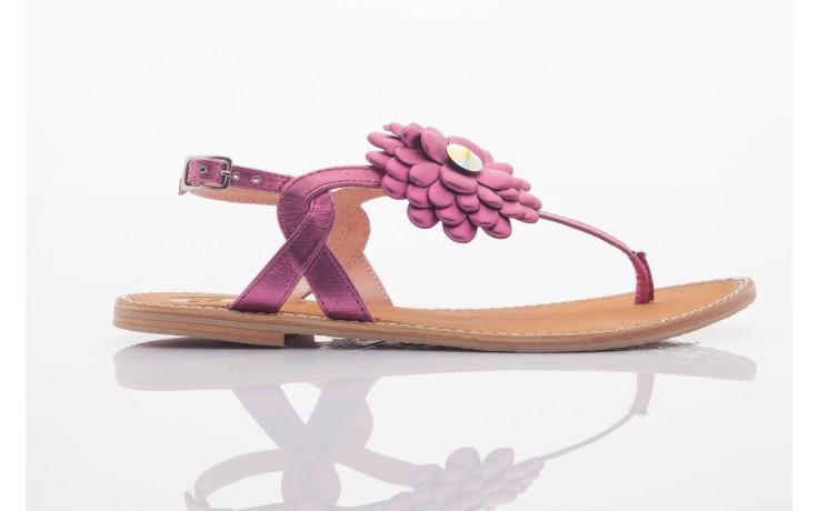 Sandały gioseppo popa fuchsia, róż, skóra naturalna  - gioseppo - nasze marki 2