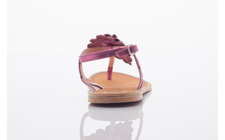 Sandały gioseppo popa fuchsia, róż, skóra naturalna  - gioseppo - nasze marki 3