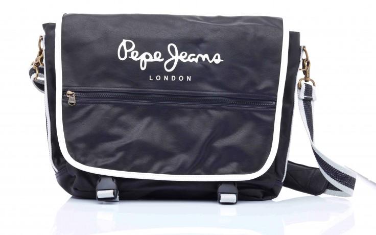 Pepe jeans nicolas bag black - pepe jeans  - nasze marki 4