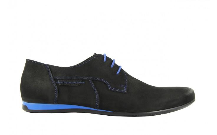 Półbuty tresor-ni 157 czarny floter-niebieski, skóra naturalna - tresor - nasze marki