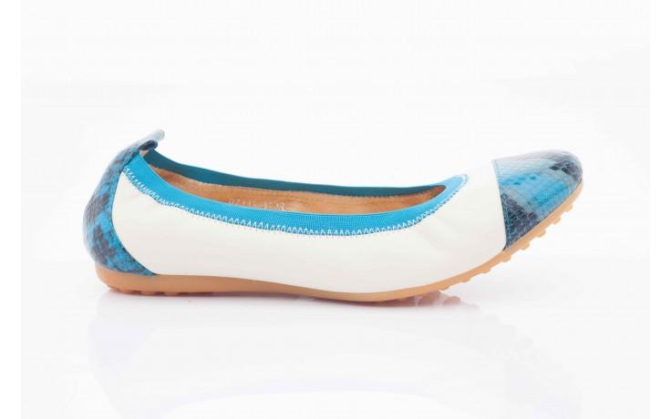 Bayla 07133-370b beige sheep blue multi snake - bayla - nasze marki 1