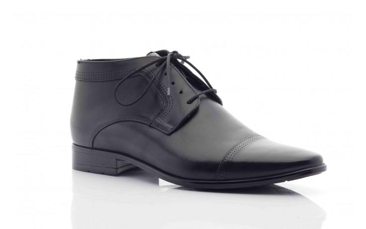 Trzewiki tresor-tr 2882 czarny, skóra naturalna - wizytowe - trzewiki - buty męskie - mężczyzna 5