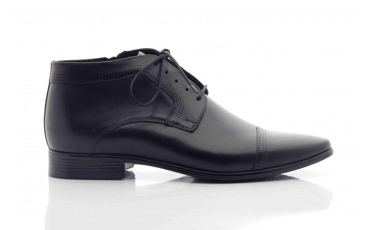 Trzewiki tresor-tr 2882 czarny, skóra naturalna - wizytowe - trzewiki - buty męskie - mężczyzna 3