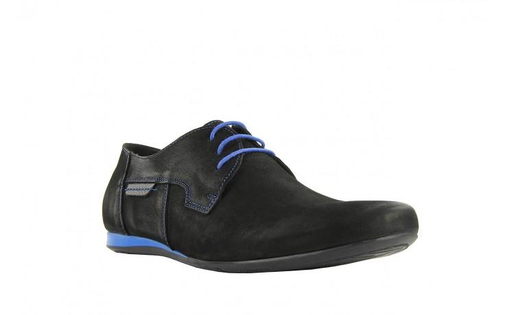 Półbuty tresor-ni 157 czarny floter-niebieski, skóra naturalna - tresor - nasze marki 1