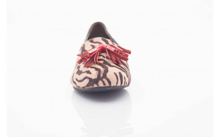 Lordsy bayla 1133-46 beige zebra red, beż/ brąz, futro naturalne - bayla - nasze marki 3