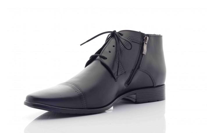 Trzewiki tresor-tr 2882 czarny, skóra naturalna - wizytowe - trzewiki - buty męskie - mężczyzna
