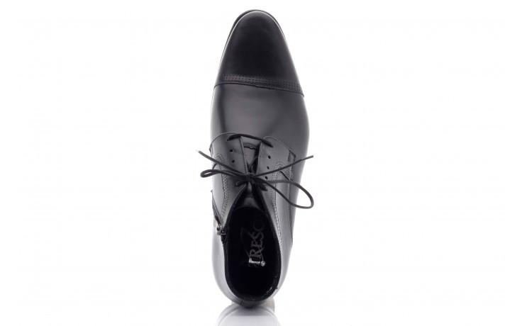 Trzewiki tresor-tr 2882 czarny, skóra naturalna - wizytowe - trzewiki - buty męskie - mężczyzna 2