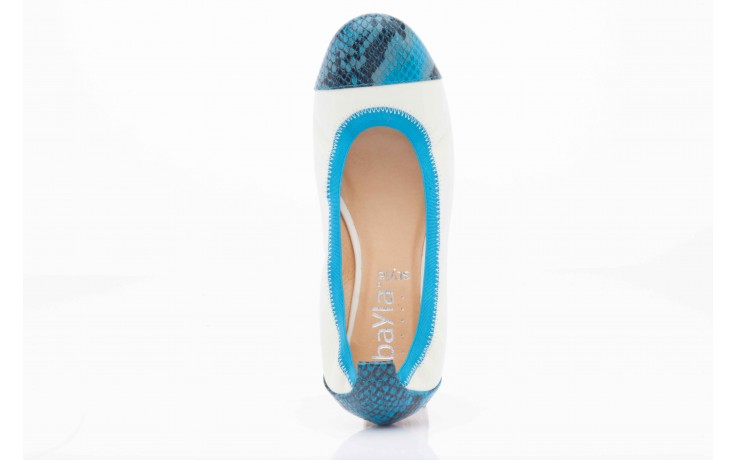 Bayla 07133-370b beige sheep blue multi snake - bayla - nasze marki 4