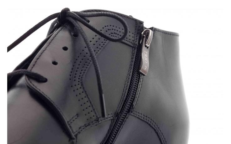 Trzewiki tresor-tr 2882 czarny, skóra naturalna - wizytowe - trzewiki - buty męskie - mężczyzna 4