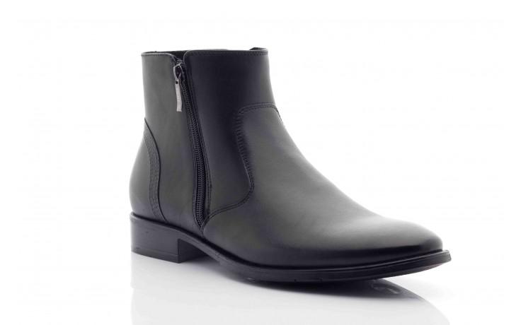 Trzewiki tresor-tr 3042 czarny, skóra naturalna  - wizytowe - trzewiki - buty męskie - mężczyzna 3