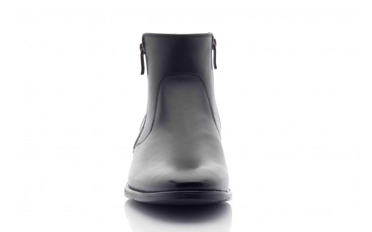 Trzewiki tresor-tr 3042 czarny, skóra naturalna  - wizytowe - trzewiki - buty męskie - mężczyzna