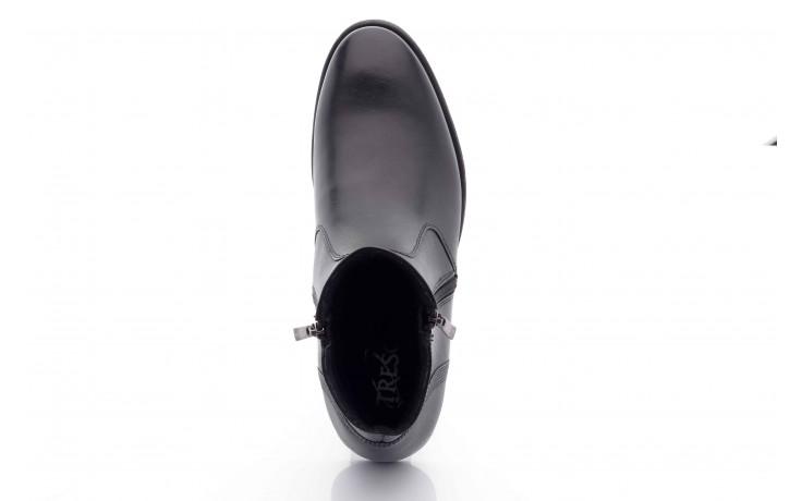 Trzewiki tresor-tr 3042 czarny, skóra naturalna  - wizytowe - trzewiki - buty męskie - mężczyzna 2
