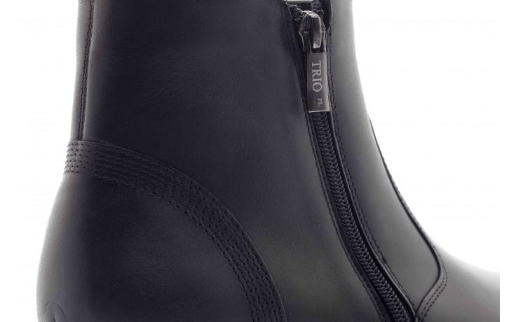 Trzewiki tresor-tr 3042 czarny, skóra naturalna  - wizytowe - trzewiki - buty męskie - mężczyzna 5