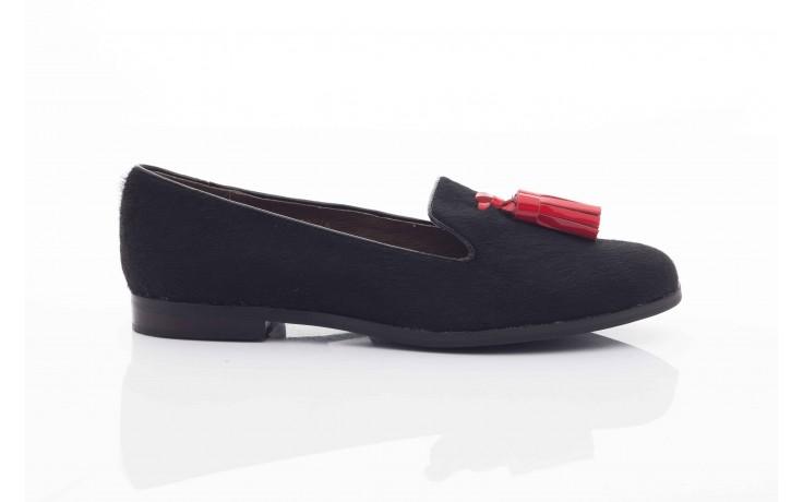Lordsy bayla 1133-46 black red, czarny/ czerwony, futro naturalne  - bayla - nasze marki 1