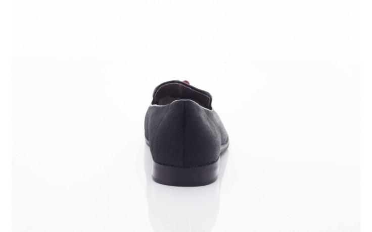 Lordsy bayla 1133-46 black red, czarny/ czerwony, futro naturalne  - bayla - nasze marki 4