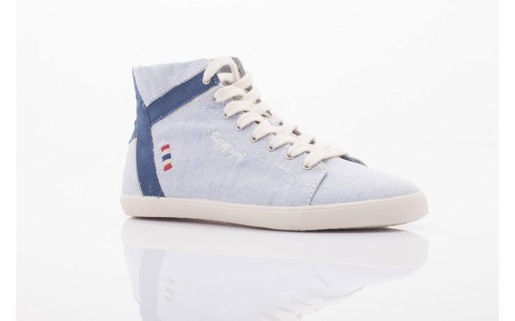 Trampki napapijri 0674010 lt. blue, niebieskie, materiał  - wysokie - trampki - buty damskie - kobieta 1