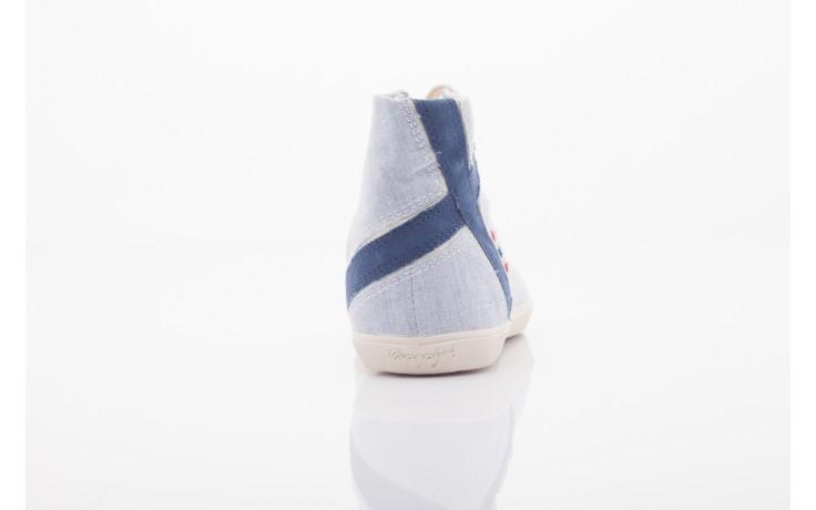 Trampki napapijri 0674010 lt. blue, niebieskie, materiał  - wysokie - trampki - buty damskie - kobieta 3