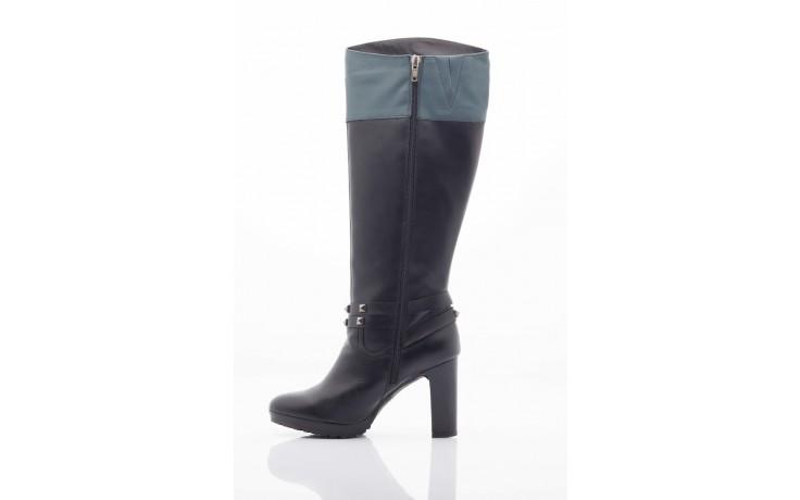 Kozaki pepe jeans pfs50351 999 black, czarny, skóra naturalna - pepe jeans  - nasze marki 4