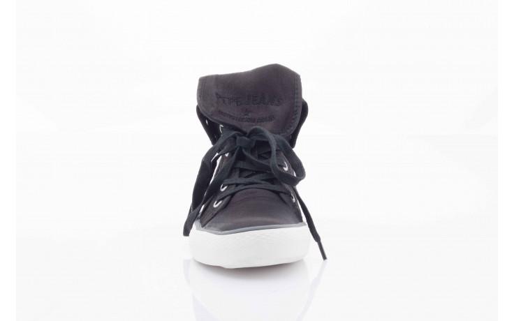 Trampki pepe jeans pfs50409 999 black, czarny, tkanina  - pepe jeans  - nasze marki 4