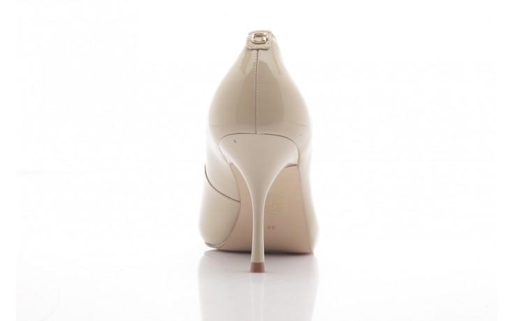 Szpilki guess fl1harpat07 sand, bez, skóra naturalna lakierowana - peep toe - szpilki - buty damskie - kobieta 3