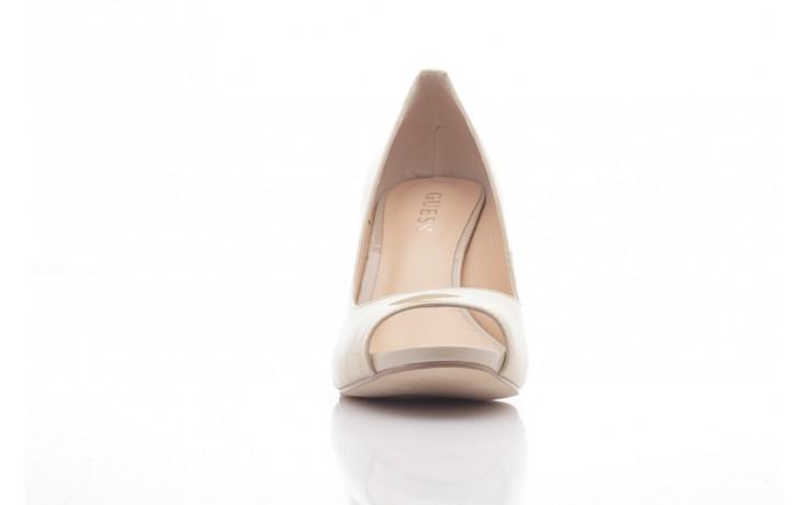 Szpilki guess fl1harpat07 sand, bez, skóra naturalna lakierowana - peep toe - szpilki - buty damskie - kobieta 2