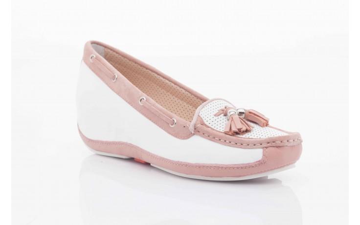 Bayla fl158-1 white nappa pink - bayla - nasze marki