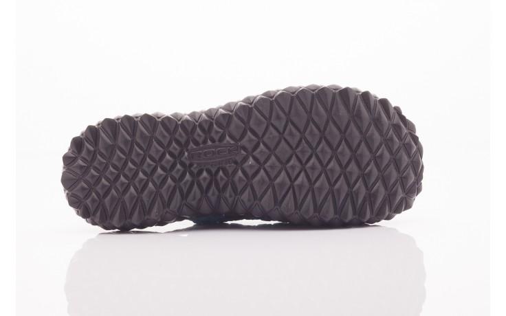 Sandały rock sandal 4 petrol-black, niebieskie/ czarny, materiał  - rock - nasze marki 3