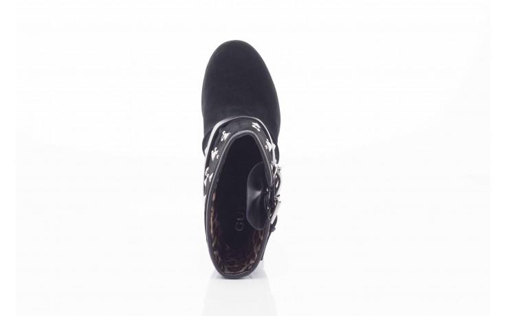 Botki guess fl4arilea12 black, czarny, skóra naturalna  - biker - botki - buty damskie - kobieta 2
