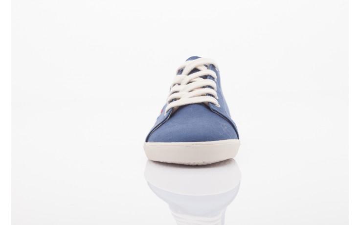 Trampki napapijri 0673030 dark blue, niebieski, materiał 2
