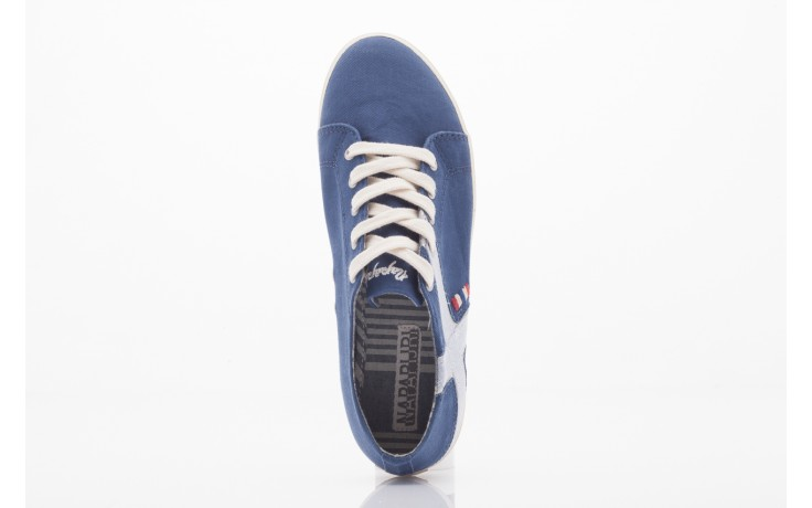 Trampki napapijri 0673030 dark blue, niebieski, materiał