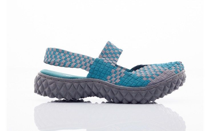 Rock over sandal petrol-grey - rock - nasze marki 2