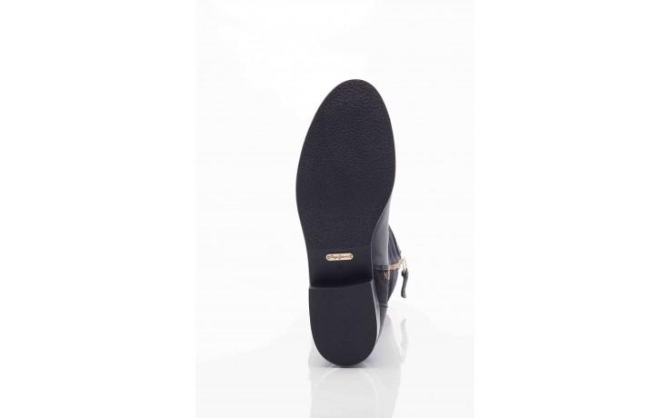 Kozaki pepe jeans pfs50438 999 black, czarny, skóra naturalna - pepe jeans  - nasze marki 3